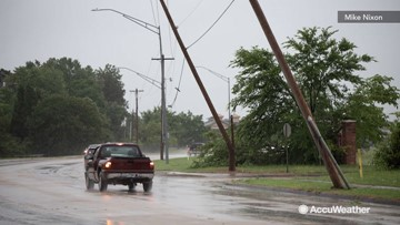 Apparent afternoon tornado hits small community
