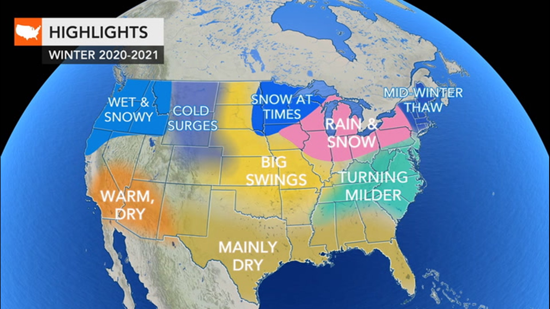 Will It Snow In Portland Or Christmas 2020 Winter is coming; here's the winter weather forecast for around