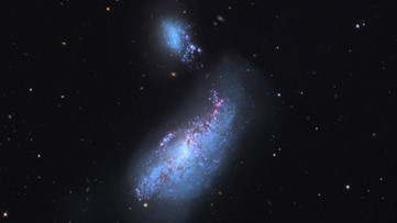 Astronomers begin to unravel a new mystery held in a 'cocoon galaxy'