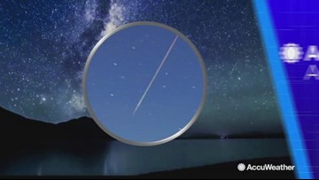 1st meteor shower of the new year peaks on Jan  3-4