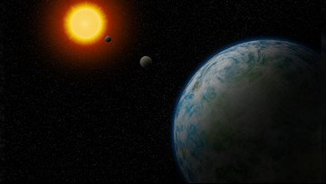 'Cold Neptune' and Two 'Super-Earths' Discovered Orbiting Nearby Stars