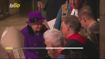 Even the Way Queen Elizabeth Eats Bananas is Fancy