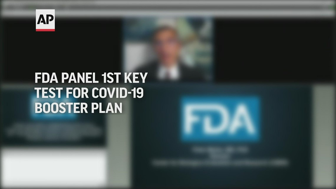 FDA panel is 1st key test for COVID-19 booster plan