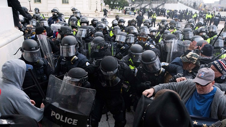 Officers dragged to safety: Documents show scope of Capitol riot chaos, AP reports