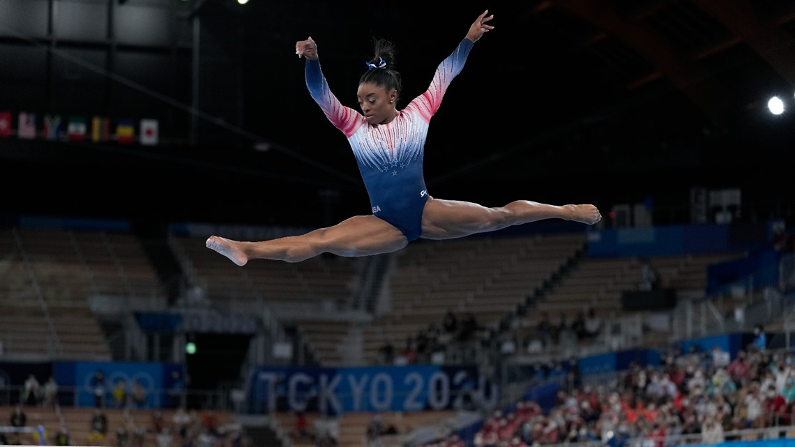 Biles: Mental health advocacy part of post-Olympic tour