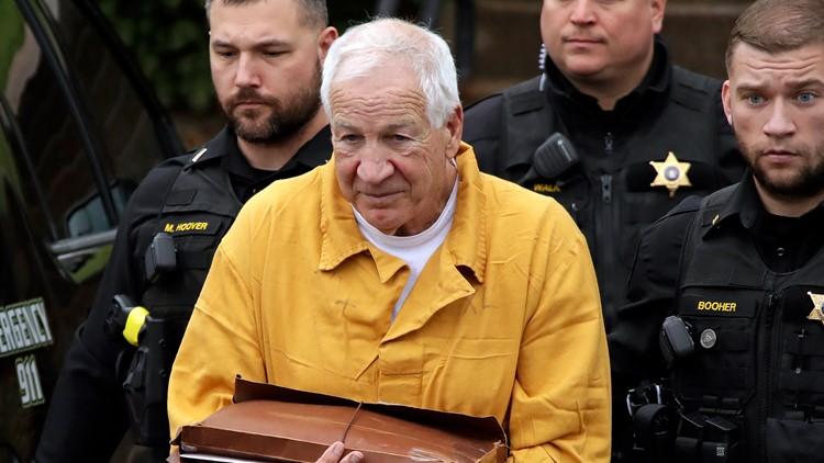 APTOPIX Penn State Abuse Jerry Sandusky