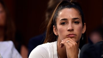 Olympian Aly Raisman gets her dog back after nearly a week