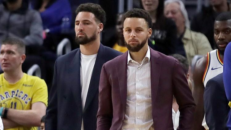 Klay Thompson won't play this season, Warriors say