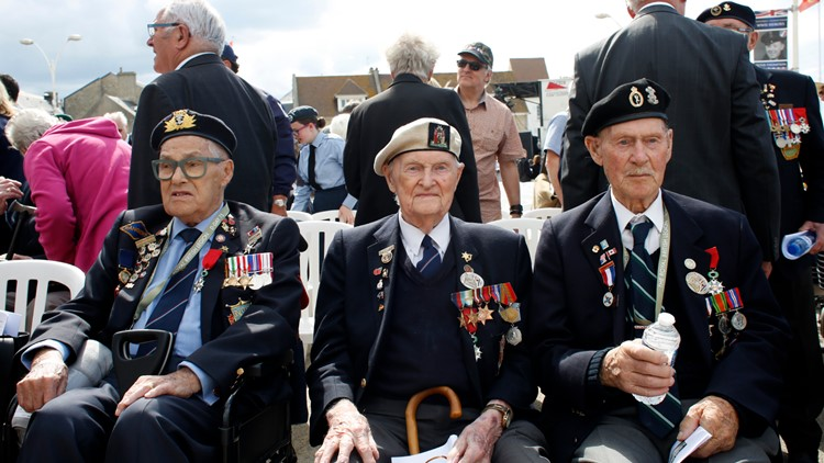 France D-Day Anniversary veterans