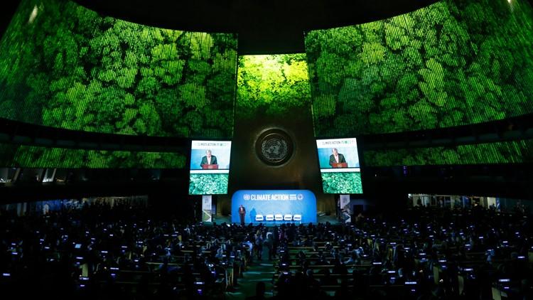 APTOPIX UN General Assembly Climate Summit