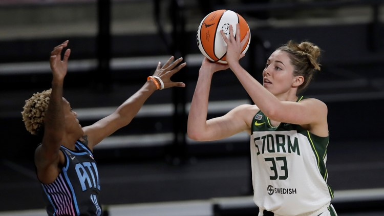 Seattle Storm's Samuelson tests positive for COVID-19, out of Olympics