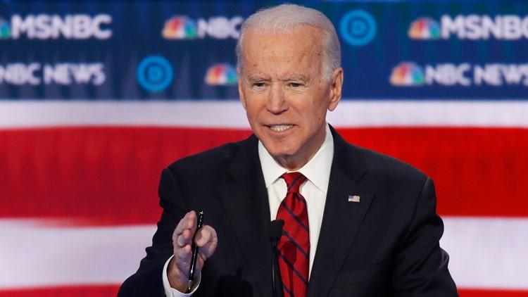 Election 2020 Debate Joe Biden