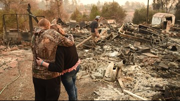 Frustration, chaos as California fire recovery drags on