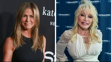 Jennifer Aniston responds to Dolly Parton's threesome bombshell: 'My mouth just dropped'