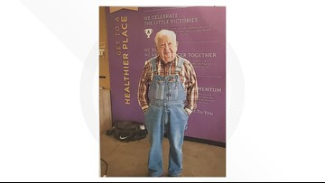 At 91, this fitness enthusiast is inspiring others, overalls and all