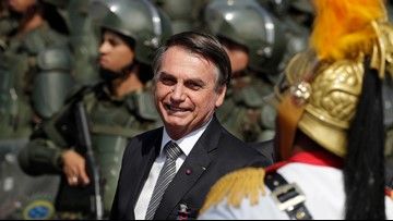 Bolsonaro to send army to fight huge fires in the Amazon