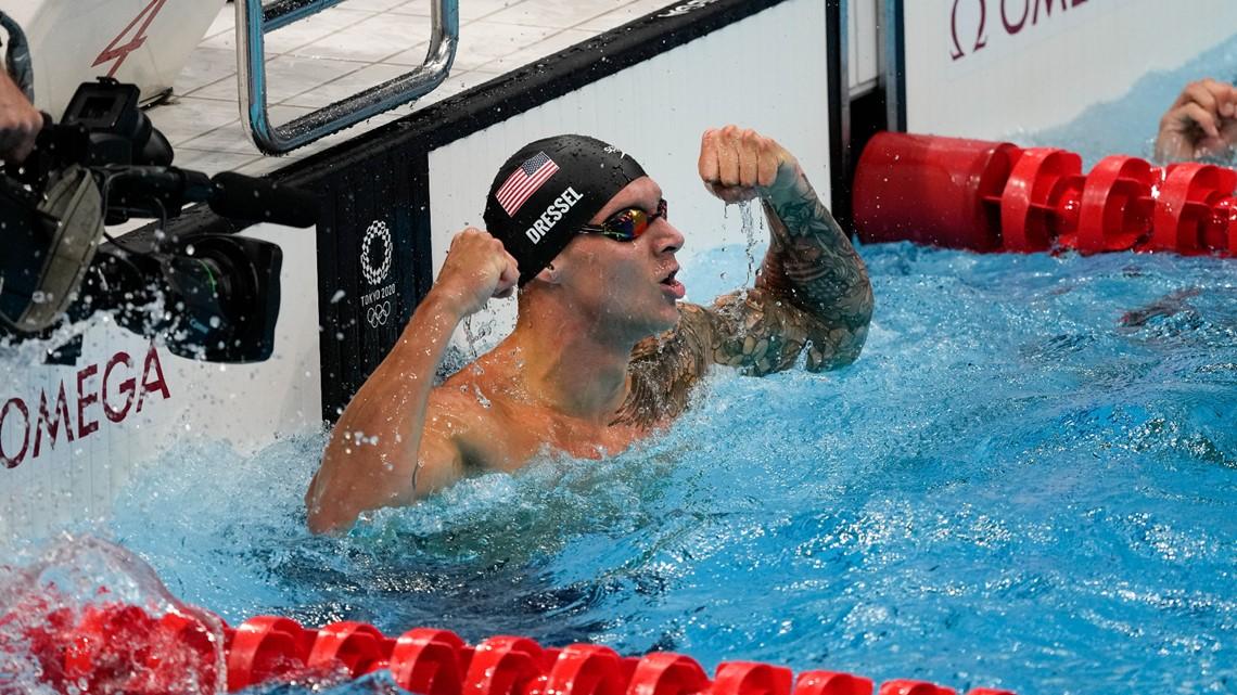 Milestone medals in pool, surprising winner in 100M dash