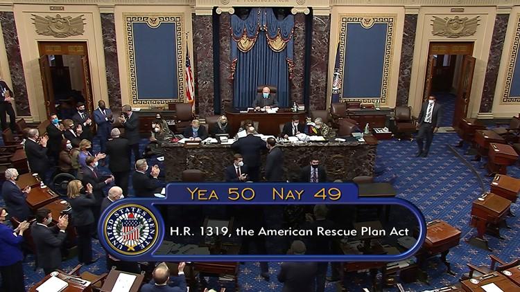 Senate passes $1.9T COVID-19 relief bill, including $1,400 stimulus checks
