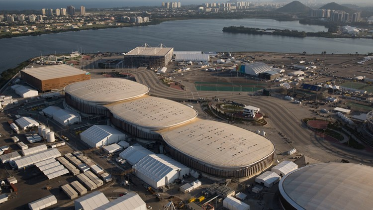 Rio Olympic Park shut down over safety issues