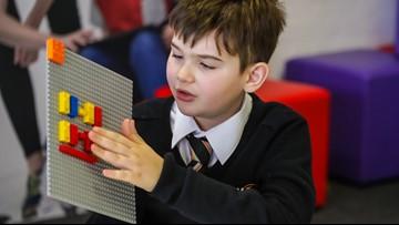 LEGO unveils braille bricks to help visually impaired children learn braille