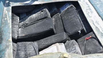 This is what 27,000 pounds of seized cocaine looks like