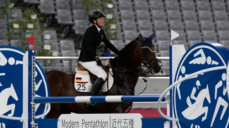 German modern pentathlon coach booted from Tokyo Games for hitting horse