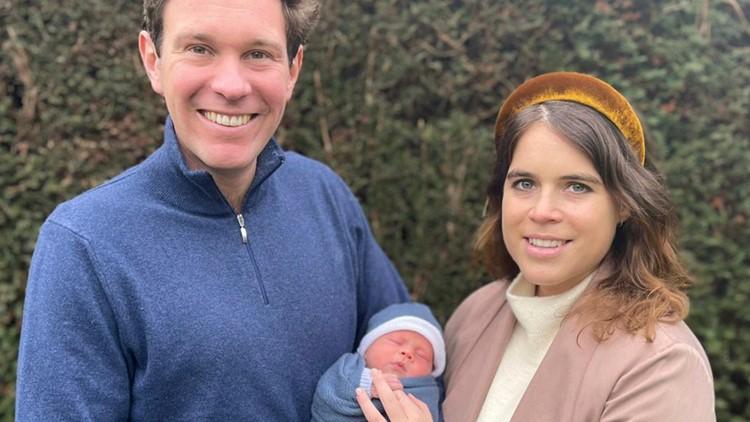Princess Eugenie, husband pick a name for their newborn son