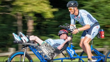 'The finish line is just the beginning' | Brothers compete in endurance sports to empower those with disabilities