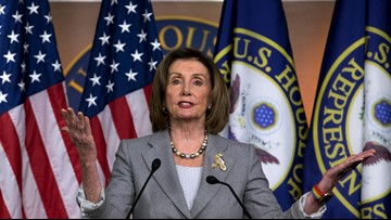 Pelosi says House working to limit Trump's actions on Iran