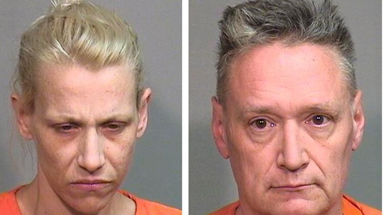 JoAnn Cunningham and Andrew Freund Sr. Missing Boy Illinois jail photos