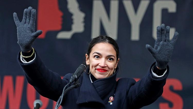 Democrats Liberal Lean AOC Alexandria Ocasio-Cortez