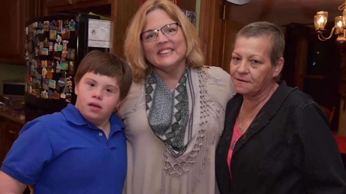 After his mom's death, this teen with Down syndrome found a loving family with his teacher