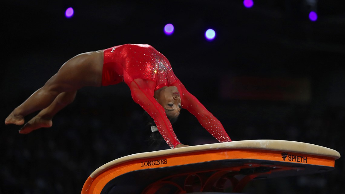 Simone Biles will blow your mind with this new vault