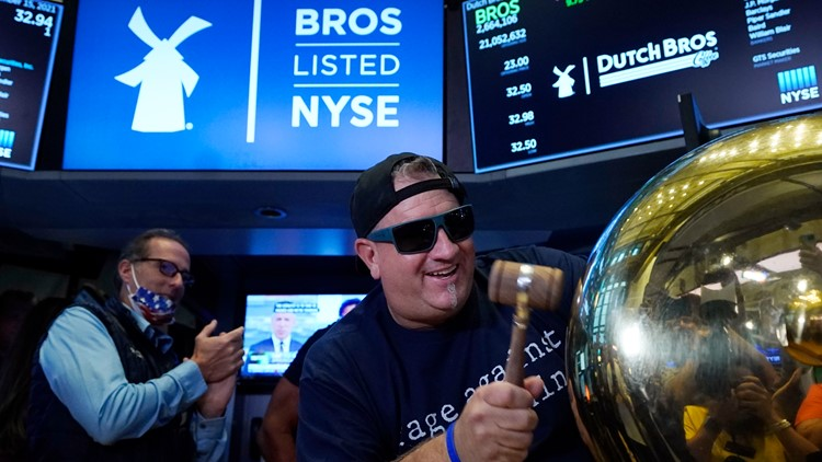 After humble beginnings, Oregon's Dutch Bros launches IPO