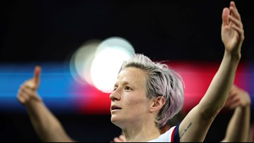 Former UP star Megan Rapinoe named FIFA player of the year