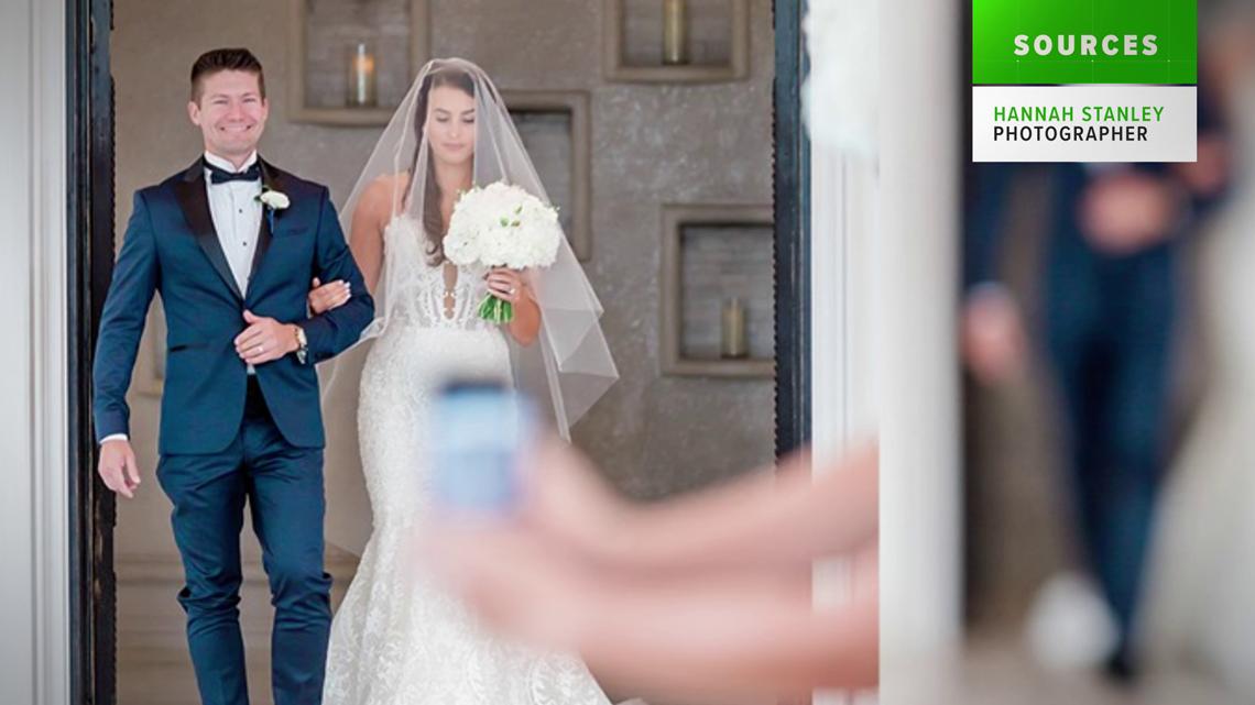 VERIFY: No, a wedding photographer didn't fake photos for attention