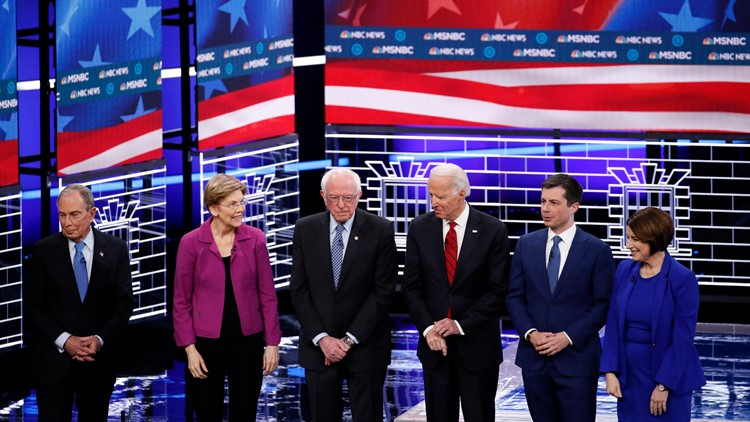 Election 2020 Debate Candidates