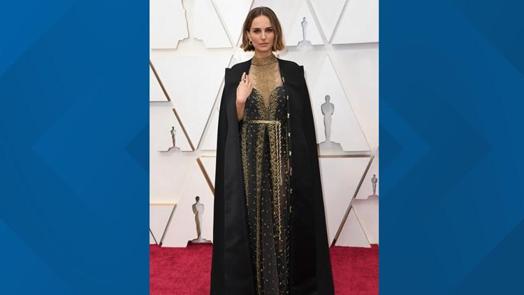 Natalie Portman directors cape 92nd Academy Awards - Arrivals