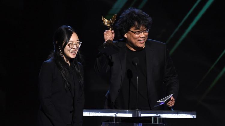 Meet Sharon Choi, interpreter for 'Parasite' director Bong Joon Ho