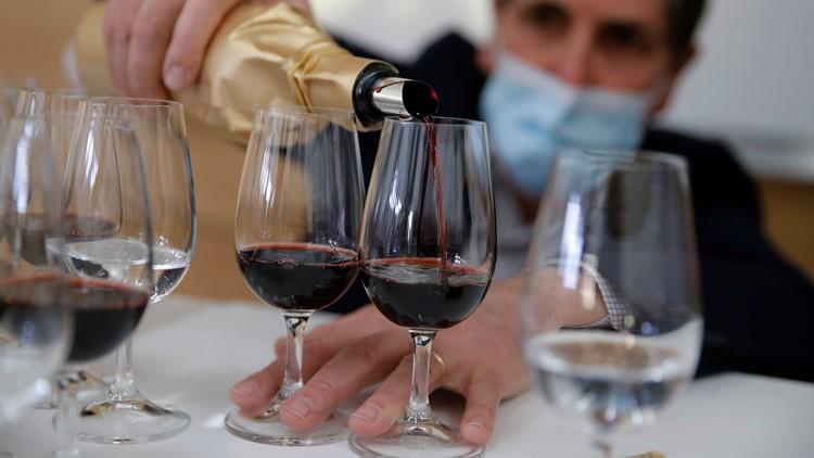 Tasters savor fine wine that orbited earth aboard International Space Station