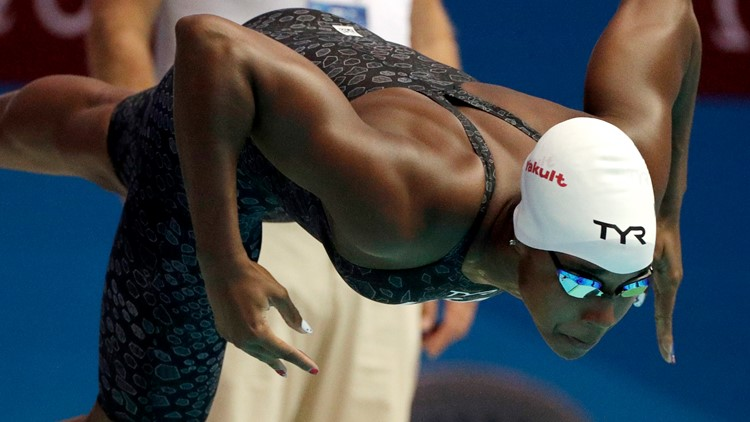 Simone says: Olympic champion pushes for change in, out of pool