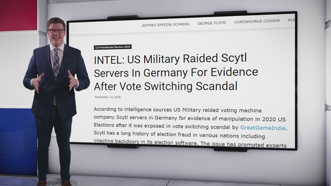 VERIFY: No, the US didn't have election results stolen in Germany