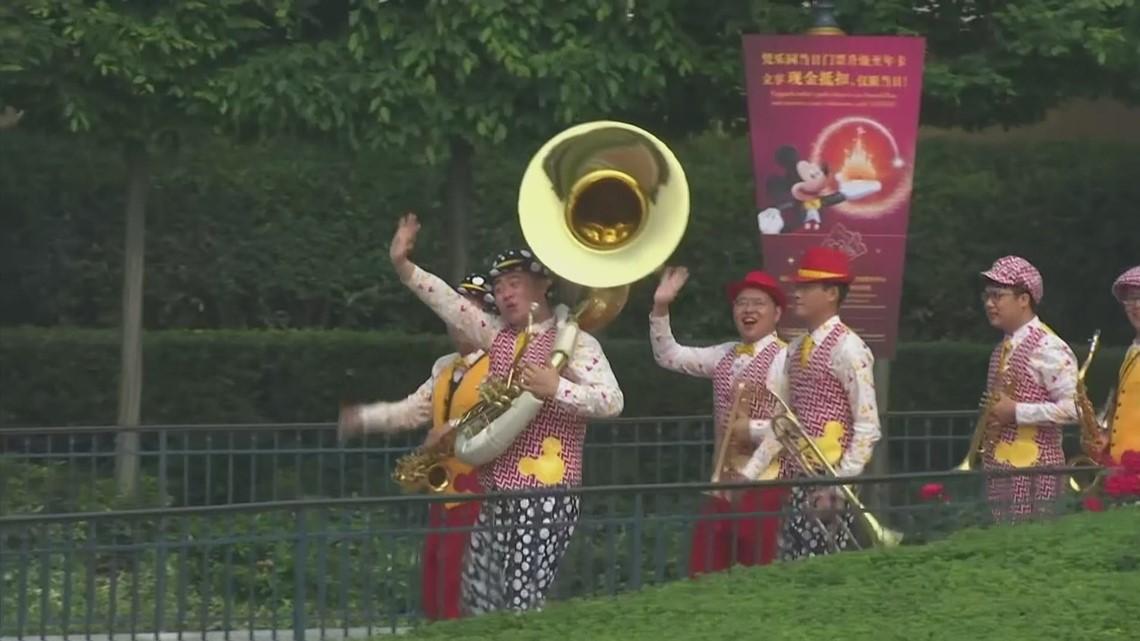 Shanghai's Disneyland reopens after coronavirus closure
