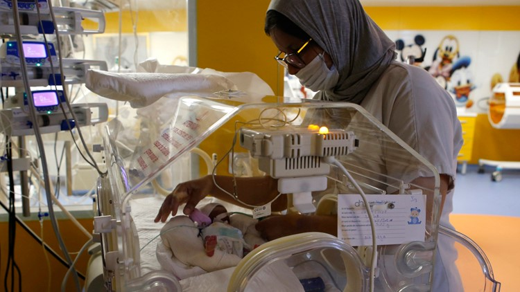 Woman from Mali gives birth to nonuplets - 2 more than she expected