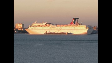 Carnival: Passenger reported missing on cruise from Alabama