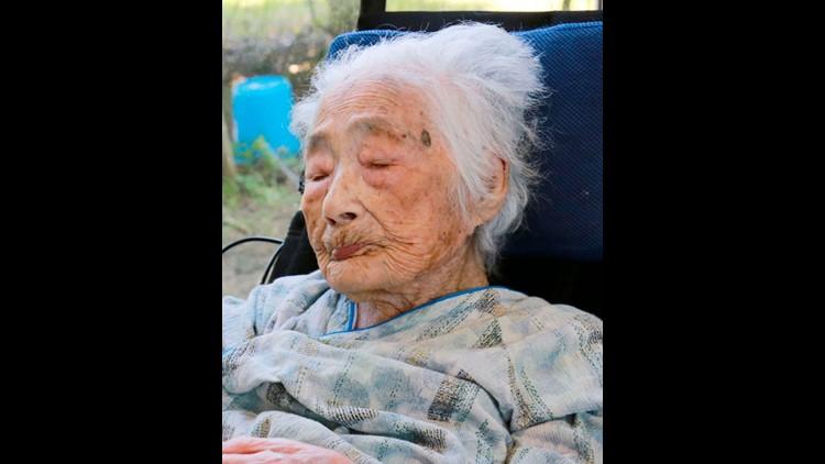 Japan's Nabi Tajima - dies aged 117