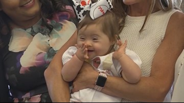 Baby born in Chick-fil-A bathroom in Texas celebrates first birthday