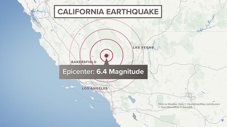 California July 4 Earthquake