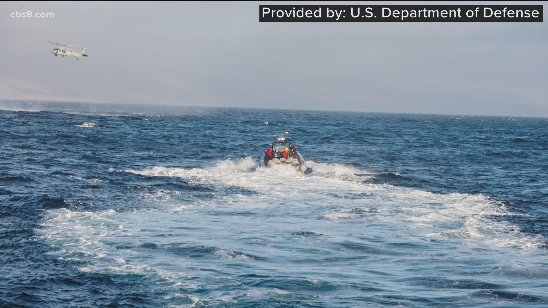 7 Marines and 1 sailor missing since amphibious assault