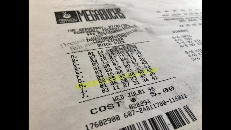 Megabucks ticket